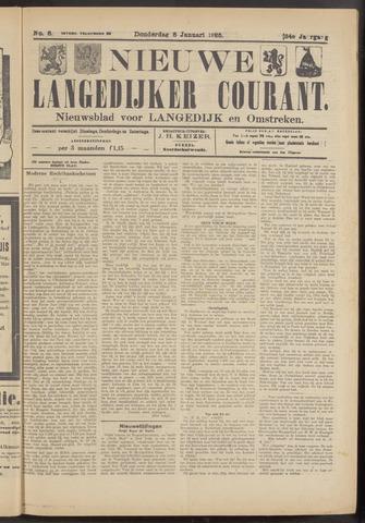 Nieuwe Langedijker Courant 1925-01-08