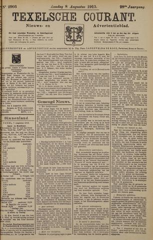 Texelsche Courant 1915-08-08