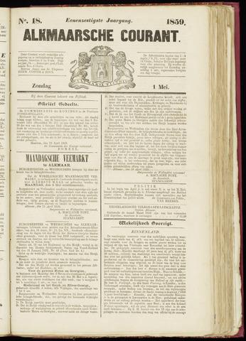 Alkmaarsche Courant 1859-05-01