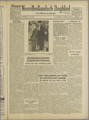 Nieuw Noordhollandsch Dagblad : voor Alkmaar en omgeving 1946-07-17