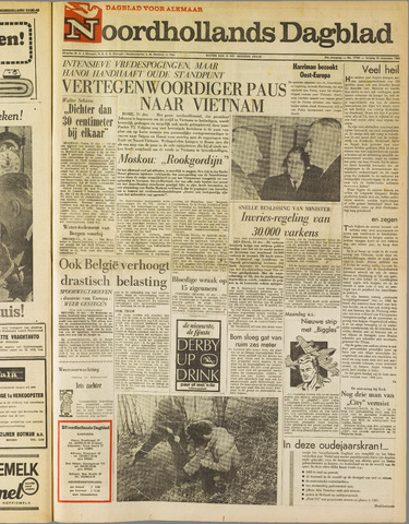 Noordhollands Dagblad : dagblad voor Alkmaar en omgeving 1965-12-31