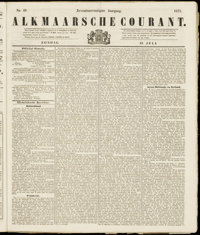 Alkmaarsche Courant 1875-07-18