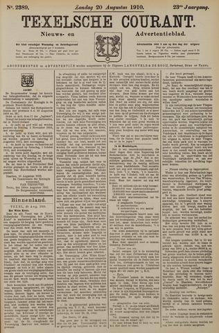 Texelsche Courant 1910-08-21