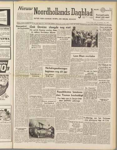 Nieuw Noordhollandsch Dagblad : voor Alkmaar en omgeving 1950-03-31
