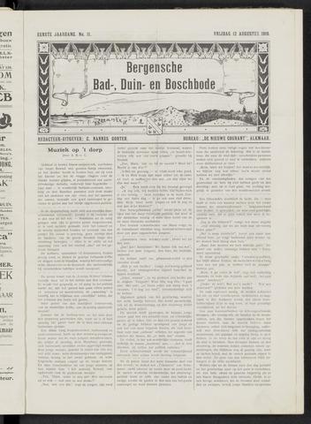 Bergensche bad-, duin- en boschbode 1910-08-12