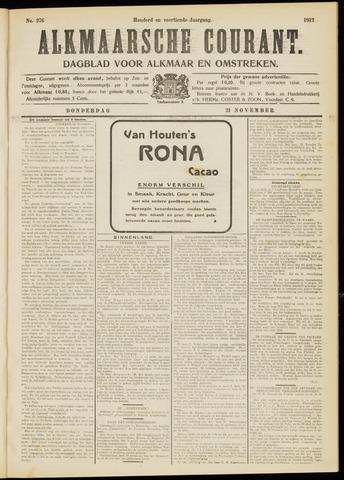Alkmaarsche Courant 1912-11-21