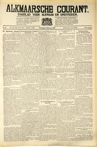 Alkmaarsche Courant 1937-02-02