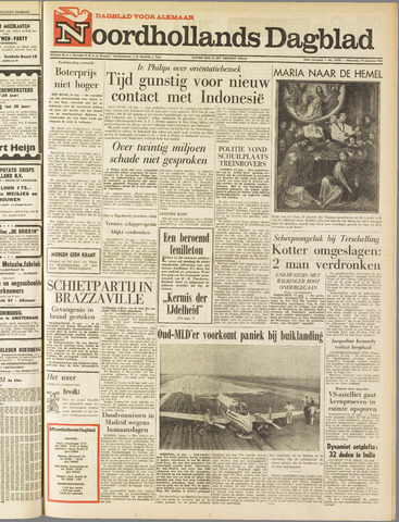 Noordhollands Dagblad : dagblad voor Alkmaar en omgeving 1963-08-14