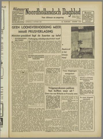 Nieuw Noordhollandsch Dagblad : voor Alkmaar en omgeving 1946-10-05