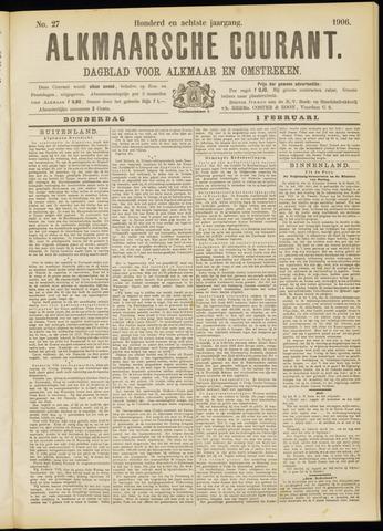 Alkmaarsche Courant 1906-02-01