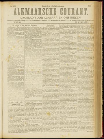 Alkmaarsche Courant 1918-08-30