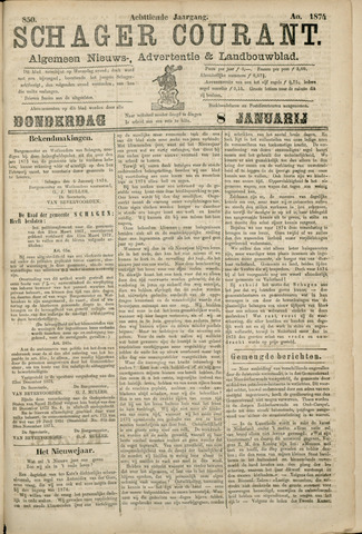 Schager Courant 1874