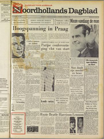 Noordhollands Dagblad : dagblad voor Alkmaar en omgeving 1969-01-20