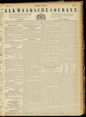 Alkmaarsche Courant 1878-09-01