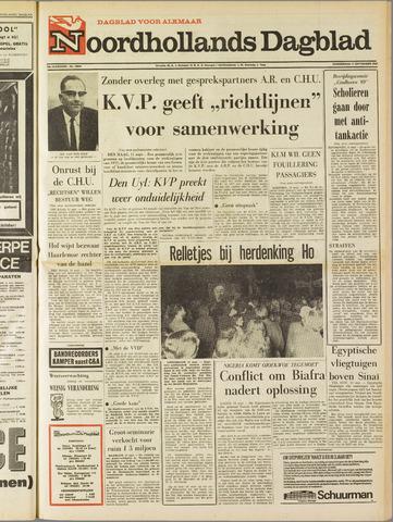 Noordhollands Dagblad : dagblad voor Alkmaar en omgeving 1969-09-11