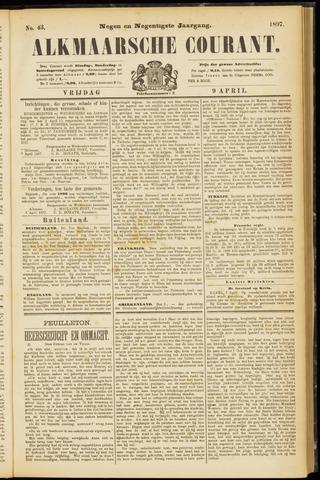 Alkmaarsche Courant 1897-04-09