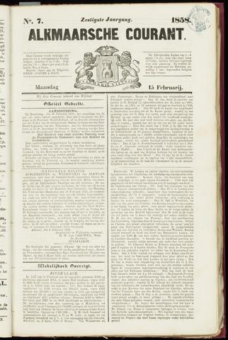 Alkmaarsche Courant 1858-02-15