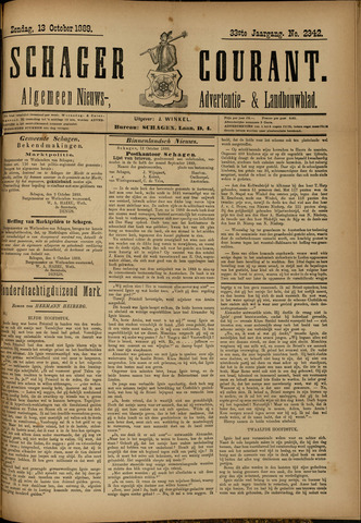 Schager Courant 1889-10-13