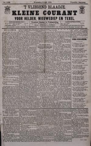 Vliegend blaadje : nieuws- en advertentiebode voor Den Helder 1884-07-09