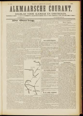 Alkmaarsche Courant 1915-08-06