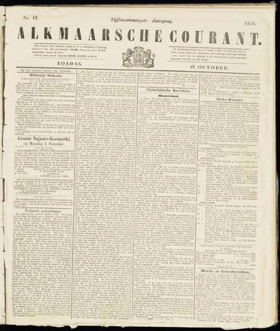 Alkmaarsche Courant 1873-10-19