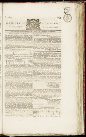 Alkmaarsche Courant 1832-02-27