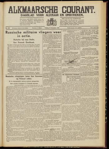 Alkmaarsche Courant 1939-12-22