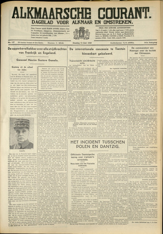 Alkmaarsche Courant 1939-06-13