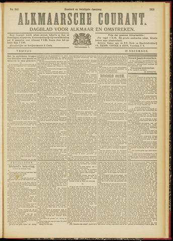 Alkmaarsche Courant 1918-12-27