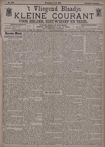 Vliegend blaadje : nieuws- en advertentiebode voor Den Helder 1890-07-09