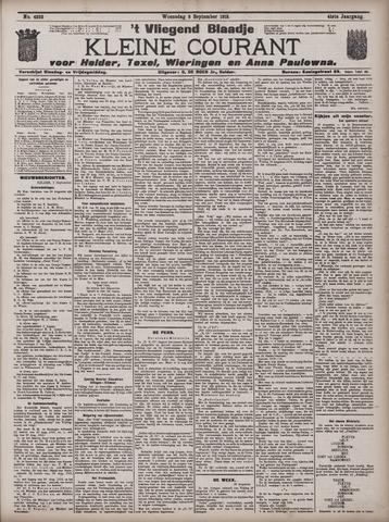 Vliegend blaadje : nieuws- en advertentiebode voor Den Helder 1913-09-03