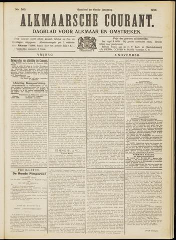 Alkmaarsche Courant 1908-11-06
