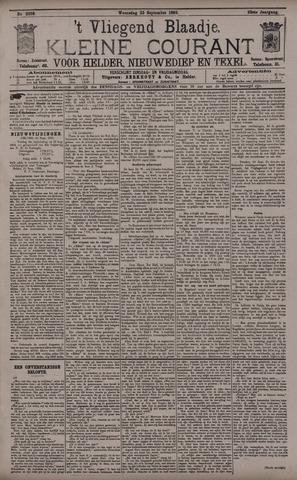 Vliegend blaadje : nieuws- en advertentiebode voor Den Helder 1895-09-25