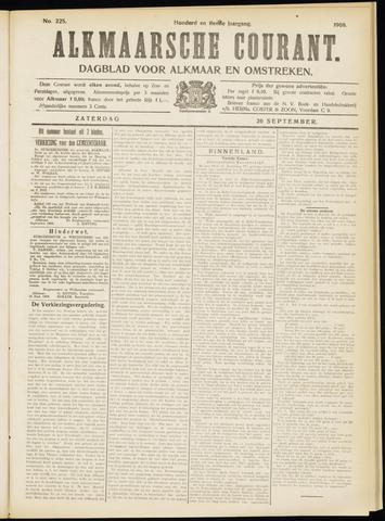 Alkmaarsche Courant 1908-09-26
