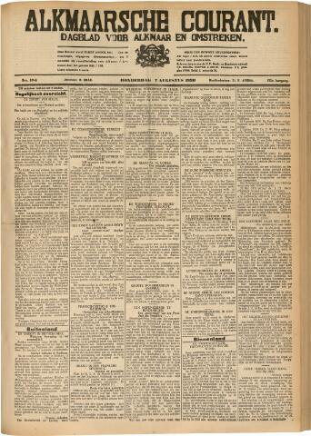Alkmaarsche Courant 1930-08-07