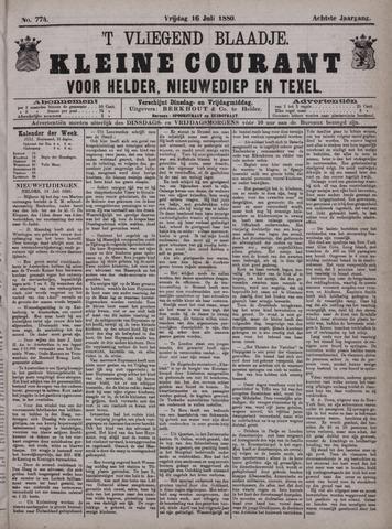 Vliegend blaadje : nieuws- en advertentiebode voor Den Helder 1880-07-16