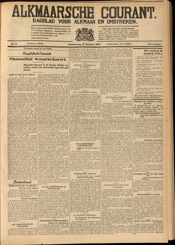 Alkmaarsche Courant 1934-01-25