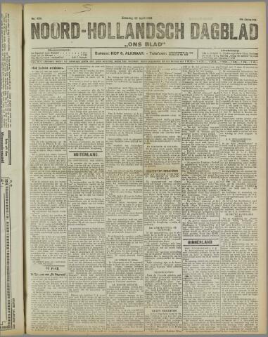 Ons Blad : katholiek nieuwsblad voor N-H 1922-04-22