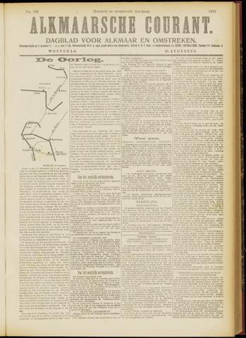 Alkmaarsche Courant 1915-08-18