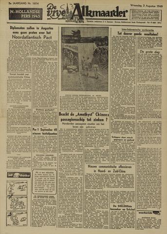 De Vrije Alkmaarder 1949-08-03