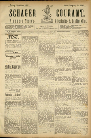 Schager Courant 1895-10-13