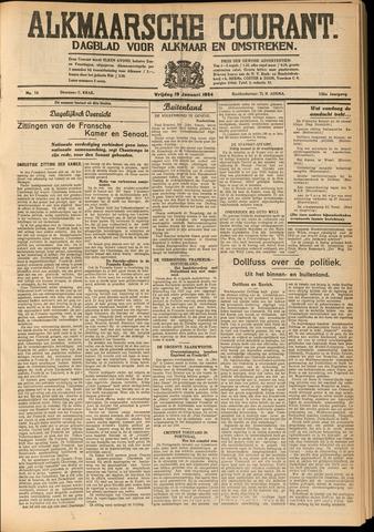Alkmaarsche Courant 1934-01-19