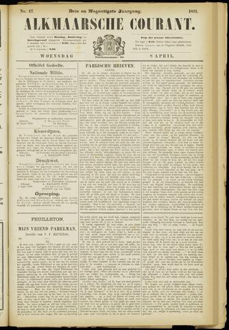 Alkmaarsche Courant 1891-04-08