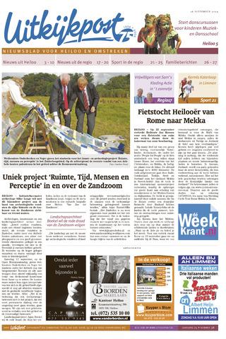 Uitkijkpost : nieuwsblad voor Heiloo e.o. 2009-09-16