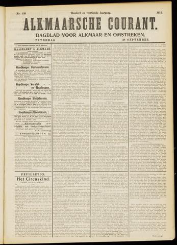 Alkmaarsche Courant 1912-09-28