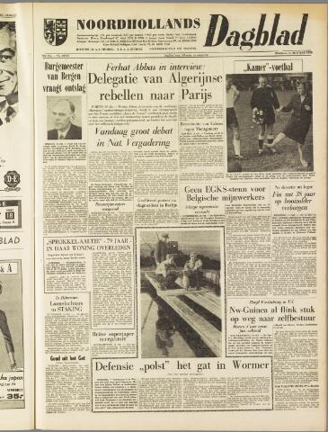 Noordhollands Dagblad : dagblad voor Alkmaar en omgeving 1959-10-13
