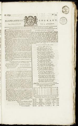 Alkmaarsche Courant 1835-08-24