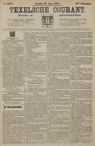 Texelsche Courant 1911-06-25
