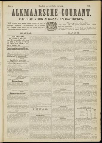 Alkmaarsche Courant 1912-01-08