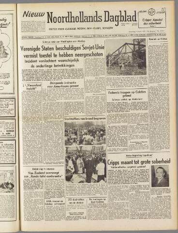 Nieuw Noordhollandsch Dagblad : voor Alkmaar en omgeving 1950-04-19